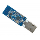 nRF24LU1 PA LNA usb wireless module embedded 20dBm(100mW) 1000m 2.4ghz